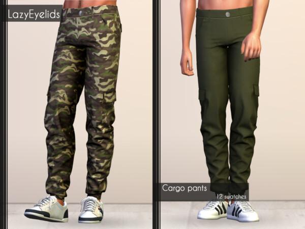 Cargo Jacket, Pants ans T Shirt from Lazyeyelids
