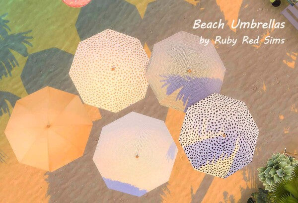 Beach Umbrella and Chairs from Ruby`s Home Design