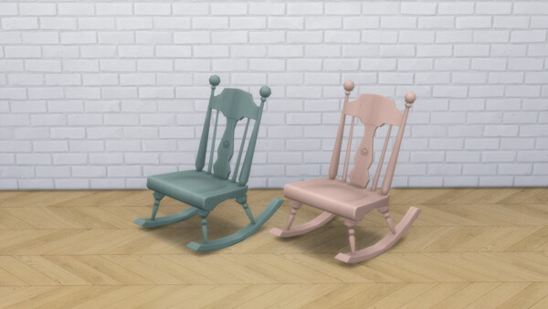 Armless Rocking Chair from Modern Crafter