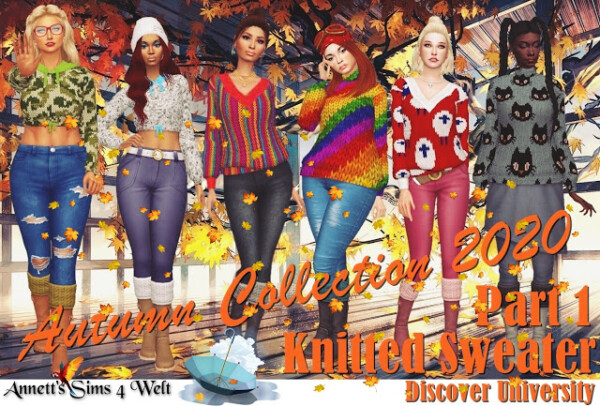 Autumn Collection 2020   Part 1 from Annett`s Sims 4 Welt