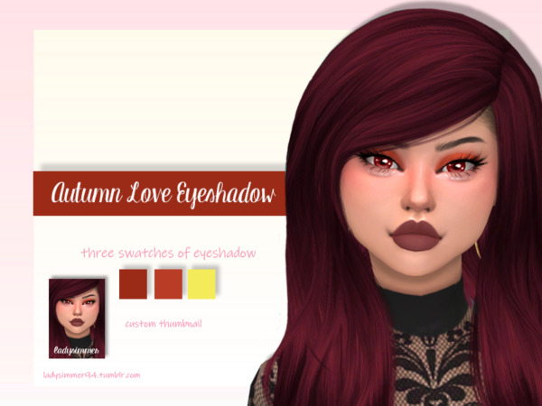 Autumn Love Eyeshadow by LadySimmer94 from TSR
