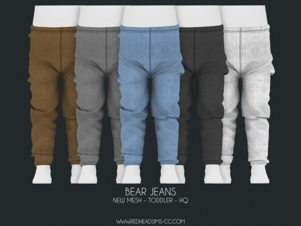 Bear Jeans from Red Head Sims