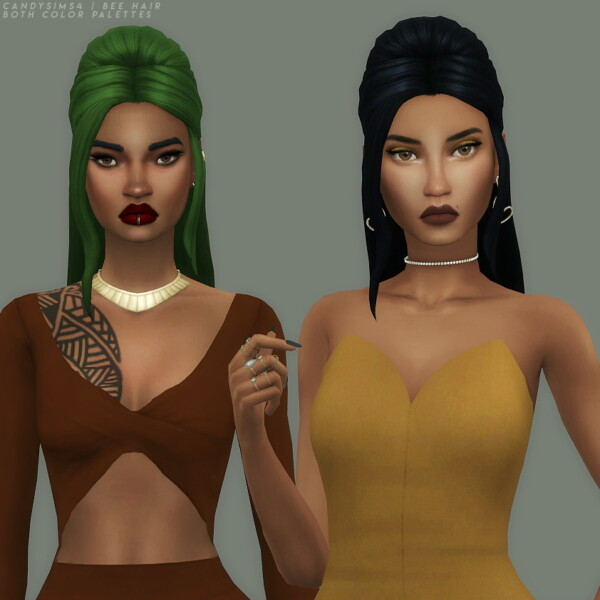 Bee Hair from Candy Sims 4