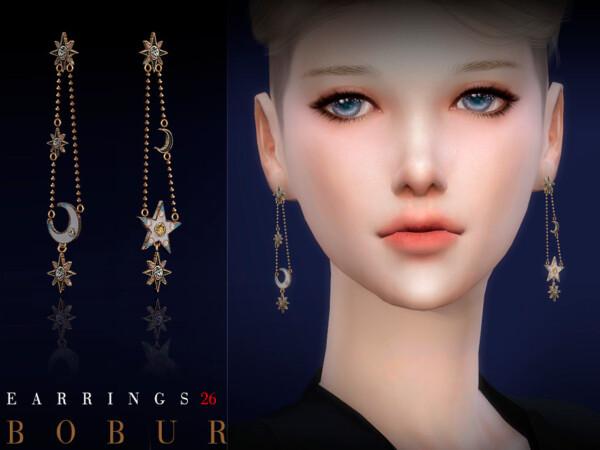Earrings 26 by Bobur from TSR