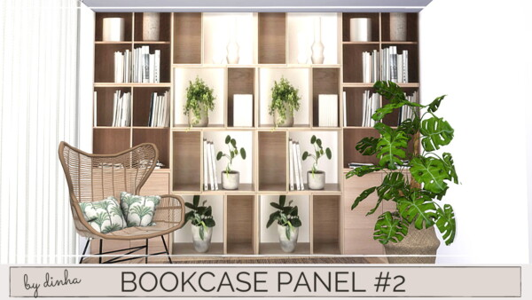 Bookcase from Dinha Gamer