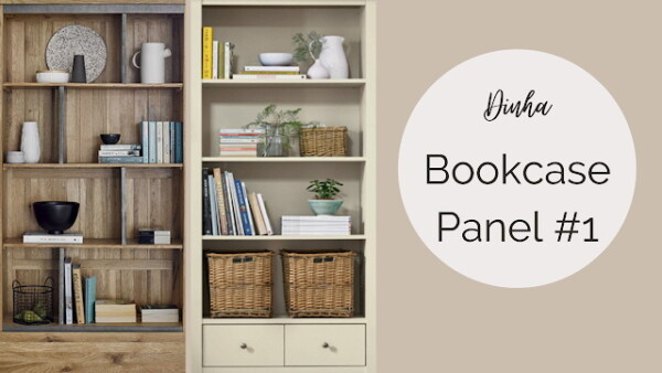 Bookcase Panel 1 from Dinha Gamer
