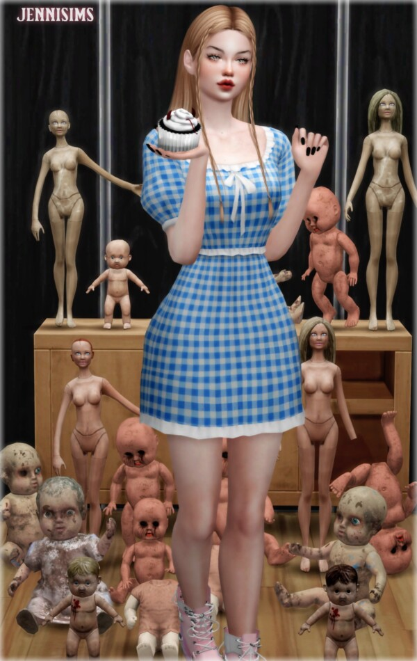 Broken Doll Parts from Jenni Sims