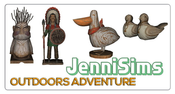 CLUTTER DECORATIVE wood (4 ITEMS) from Jenni Sims