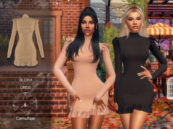 Gloria Dress by Camuflaje from TSR