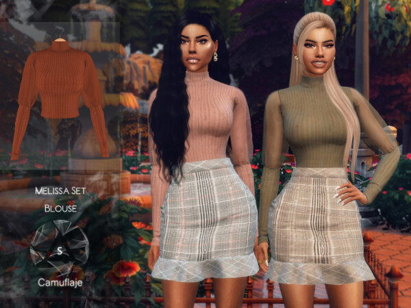 Melissa Set Blouse by Camuflaje from TSR