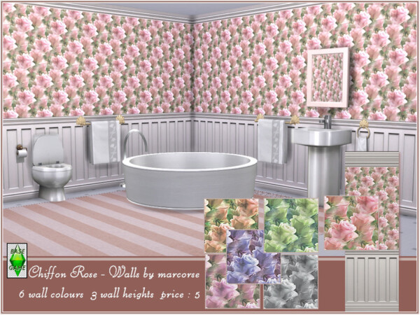 Chiffon Rose Walls by marcorse from TSR
