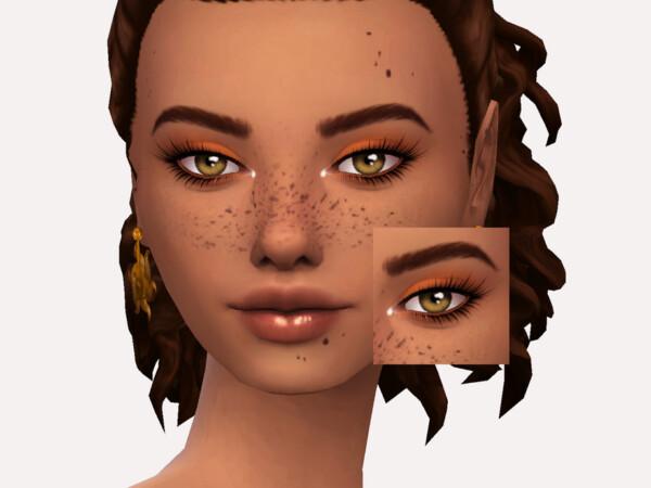 Chocolate Truffle Eyeshadow by Sagittariah from TSR