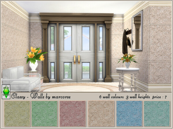 Classy Walls by marcorse from TSR