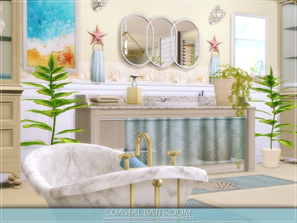 Coastal Bathroom by MychQQQ from TSR