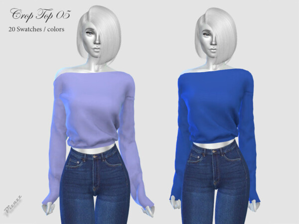 Crop Top 05 by pizazz from TSR
