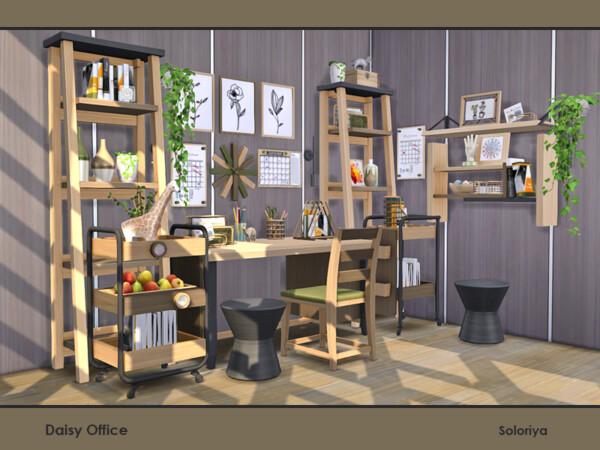 Daisy Office Decor by soloriya from TSR