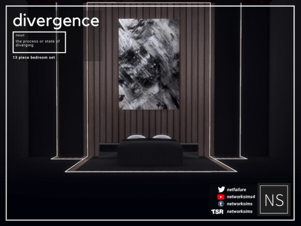 Divergence Bedroom by Networksims from TSR