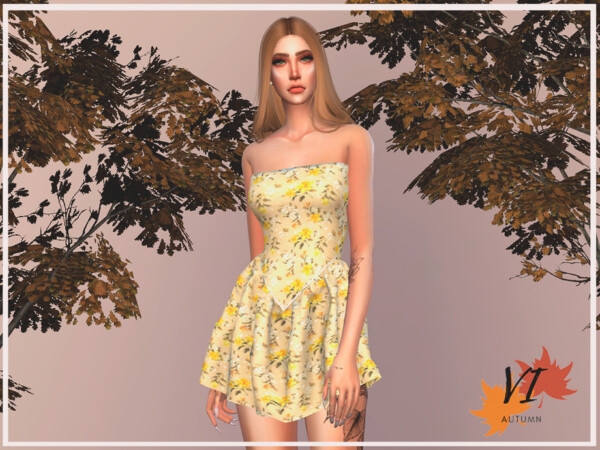 Dress IV Autumn VI by Viy Sims from TSR