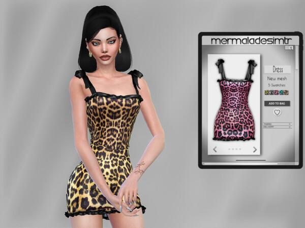 Dress MC77 by mermaladesimtr from TSR