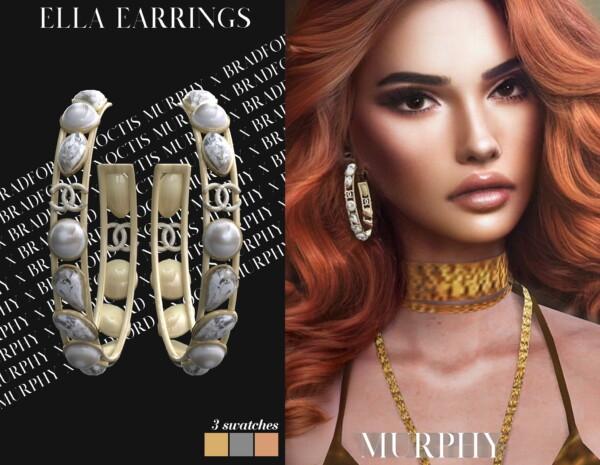 Ella Earrings from Murphy
