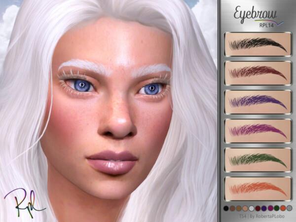 Eyebrow RPL14 by RobertaPLobo from TSR