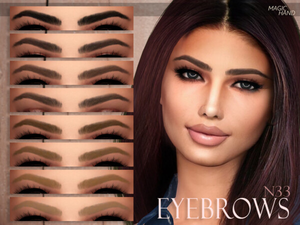Eyebrows N33 by MagicHand from TSR
