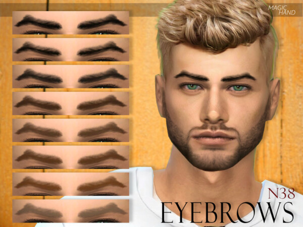 Eyebrows N38 by MagicHand from TSR