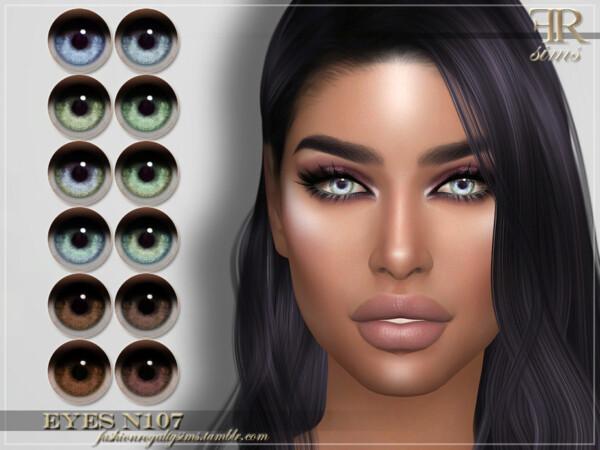 Eyes N107 by FashionRoyaltySims from TSR