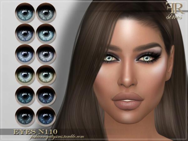 Eyes N110 by FashionRoyaltySims from TSR
