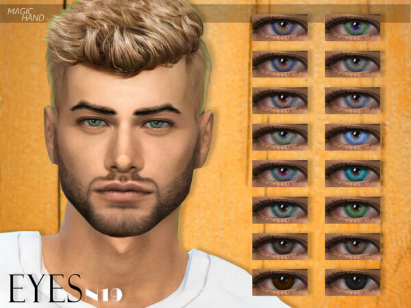 Eyes N19 by MagicHand from TSR