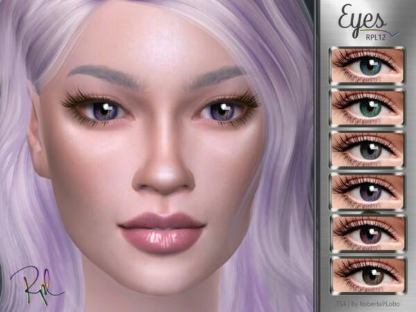 Eyes RPL12 by RobertaPLobo from TSR