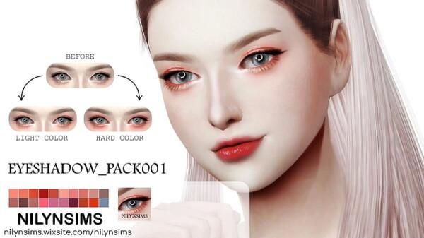 Eyeshadow Pack 01 from Nilyn Sims 4
