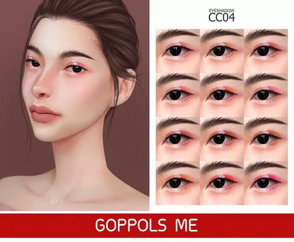 Eyeshadow CC 04 from GOPPOLS Me
