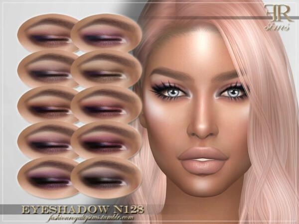 Eyeshadow N128 by FashionRoyaltySims from TSR