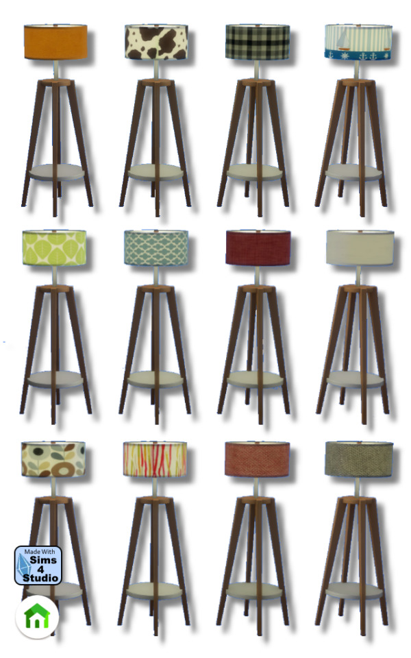 Floor lamp by Oldbox from All4Sims