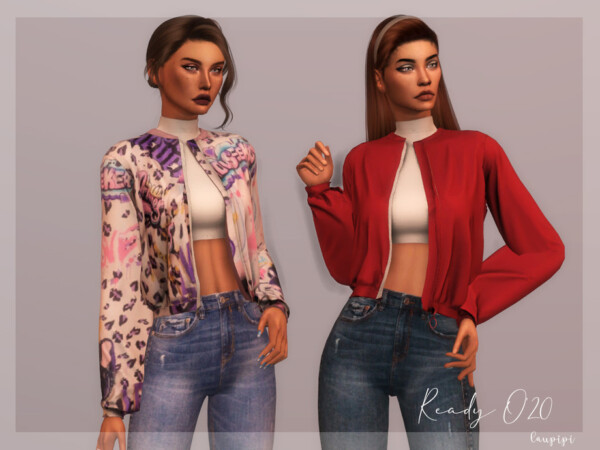 Flowy Jacket by laupipi from TSR