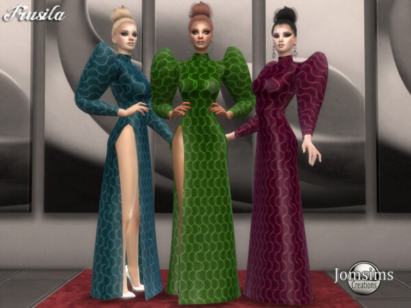 Frusila dress by jomsims from TSR