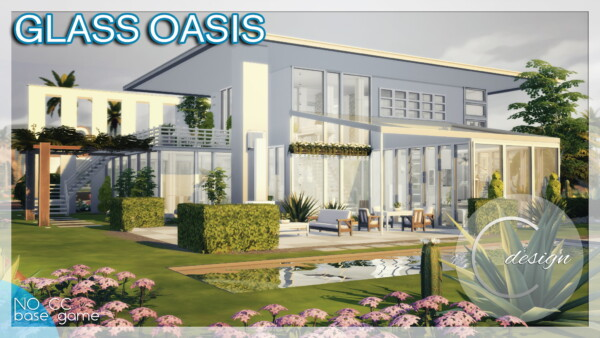 Glass Oasis House from Cross Design