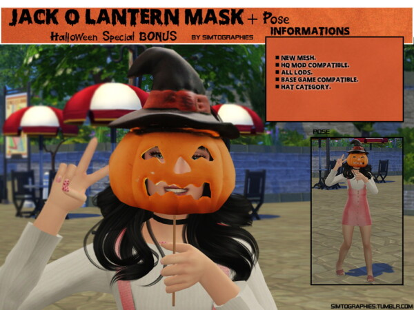 Halloween CC 2019 from Simtographies