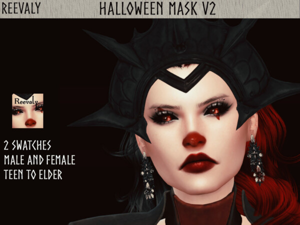 Halloween Mask V2 by Reevaly from TSR
