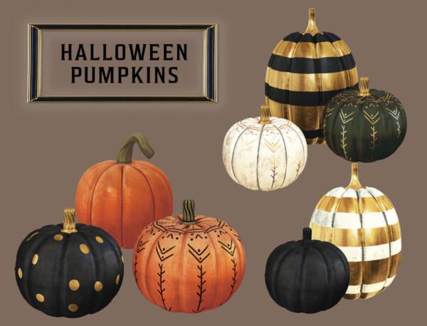 Halloween Pumpkins from Leo 4 Sims
