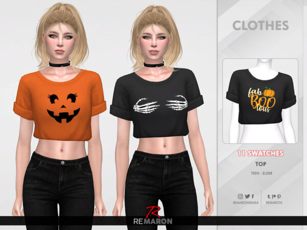 Halloween Shirt for Women 01 by remaron from TSR