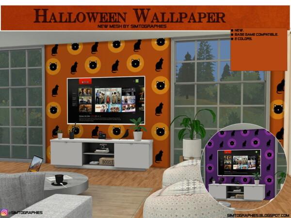 Hallloween Walls, Lantern and Pumpkin Ring from Simtographies