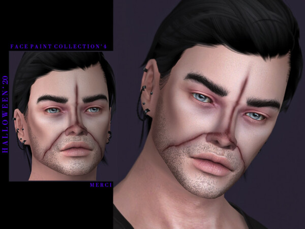 Halloween20 Face Paint Collection 4 by Merci from TSR