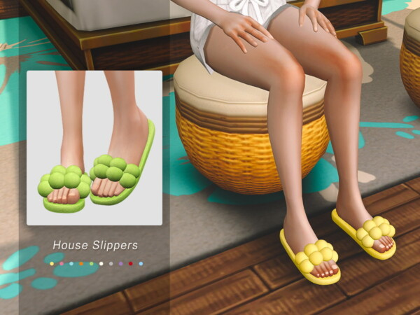 House Slippers 01 by Jius from TSR