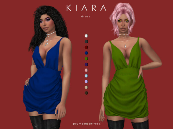Kiara dress by Plumbobs n Fries from TSR