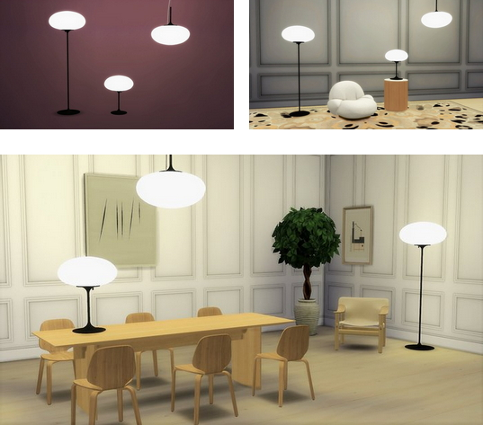 Lamp Collection from Meinkatz Creations