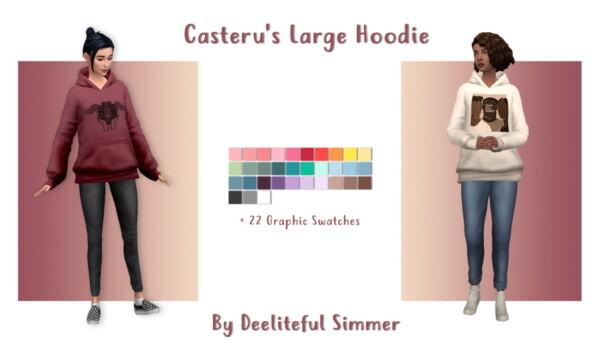 Cateru`s Large Hooddie from Deelitefulsimmer