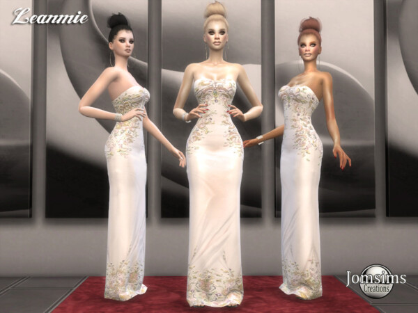 Leanmie dress by jomsims from TSR