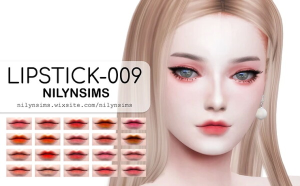 Lipstick 006 from Nilyn Sims 4